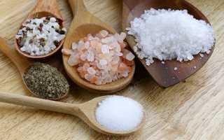 Соль для волос от выпадения