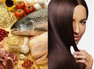 Диета и правильное питание при выпадении волос
