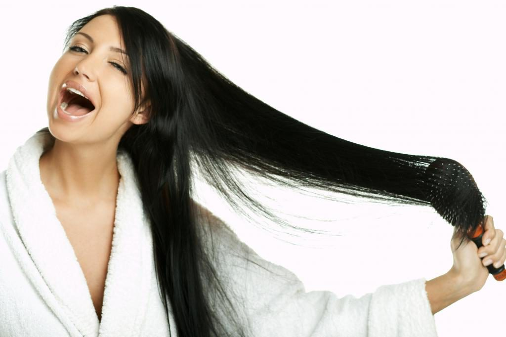 Маска против выпадения волос дома
